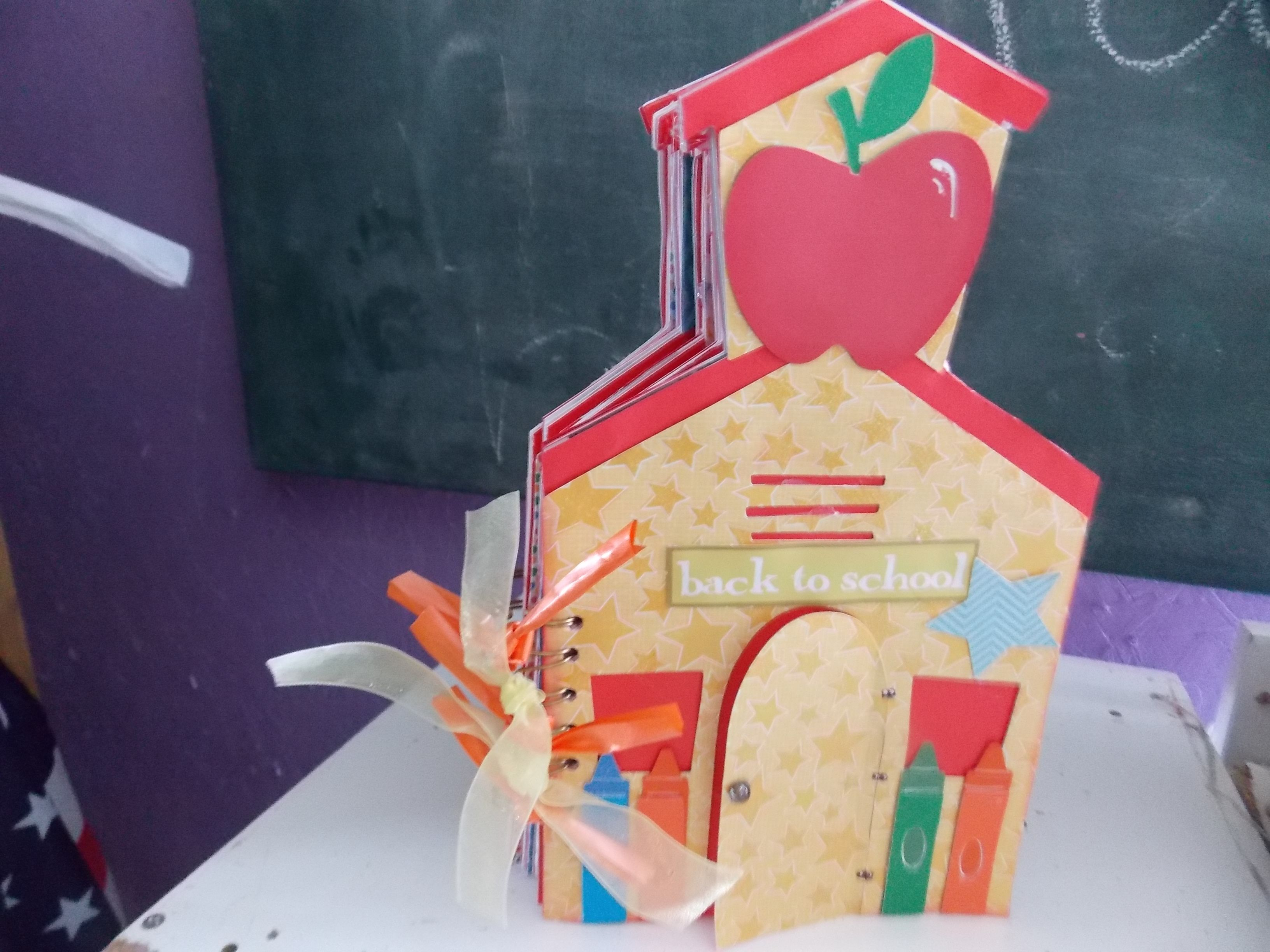 school house mini album