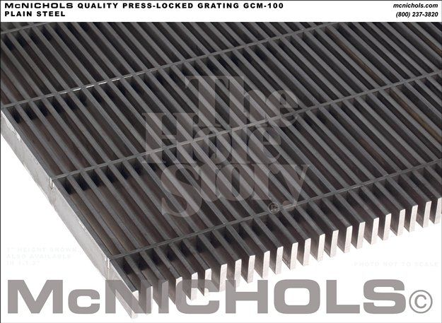 Incroyable McNICHOLS Presslock Steel Stair Tread GCM 100
