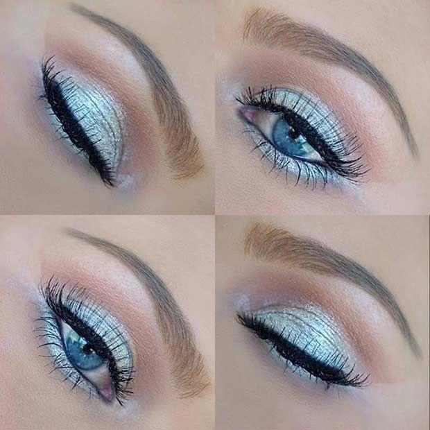 31 Eye Makeup Ideas For Blue Eyes Blue Makeup Blue Eye Makeup