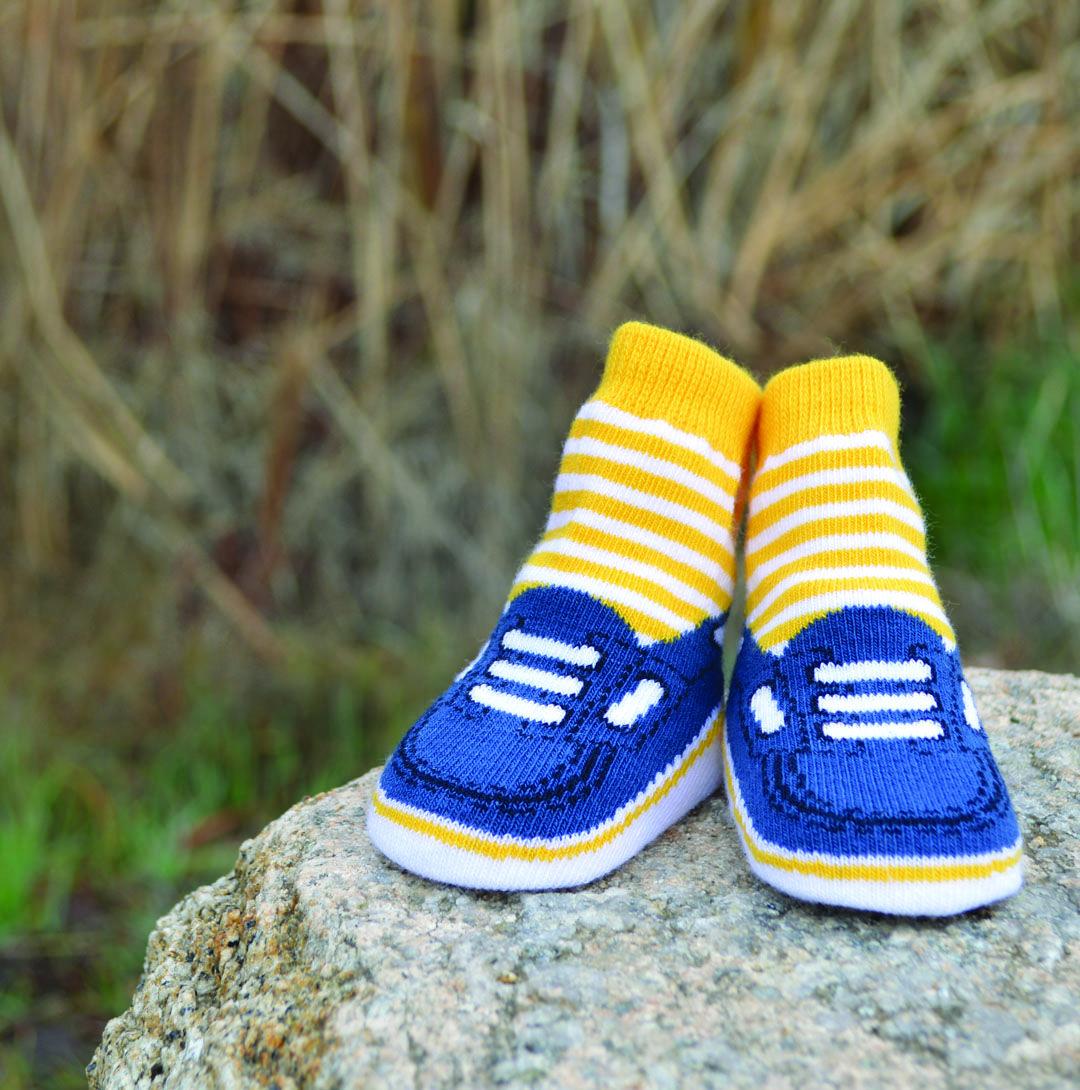 91312b53ca5e6 Noah Socks, 0 - 12 Months, 6 Pack | Baby Socks | Socks, Baby socks ...