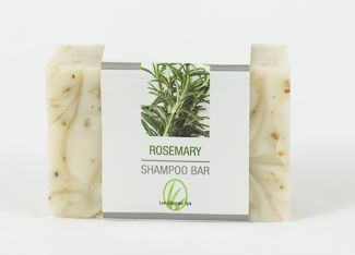 Rosemary Soap Shampoo Bar www.ourlemongrassspa.com/7128/ Infused with Rosemary essential oil and nettles, this product stimulates the scalp and cleanses hair. Convenient for traveling and can be used by the whole family! Ingredients: (Elaeis Guineensis) Palm Oil, (Cocos Nucifera) Coconut Oil, (Prunus Armeniaca) Apricot Kernal Oil, (Simmondsia Chinensis) Jojoba Oil, (Urtica Dioica) Nettles infused in distilled water, Rosemary (Rosmarinus Officinalis) Essential Oil