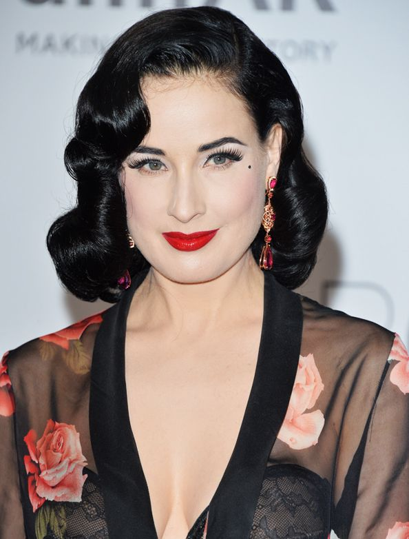 Happy Birthday, Dita Von Teese! You'll Never Guess What the Burlesque Queen is Doing for Her 42nd Birthday… #InStyle