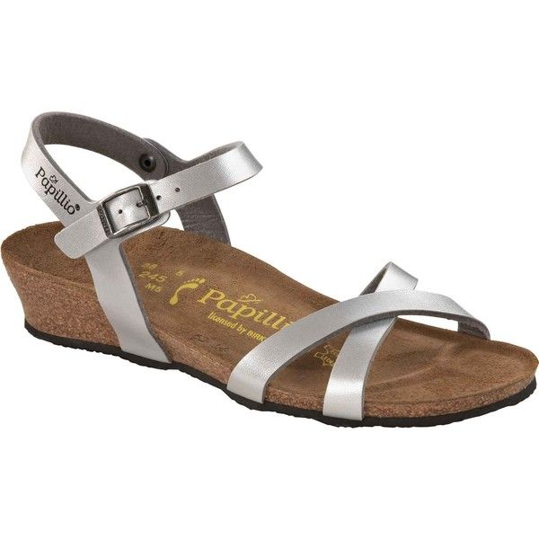 Papillio Silver Women's Alyssa Birkenstock Dress Birko Flor Shoes SUVzMpq