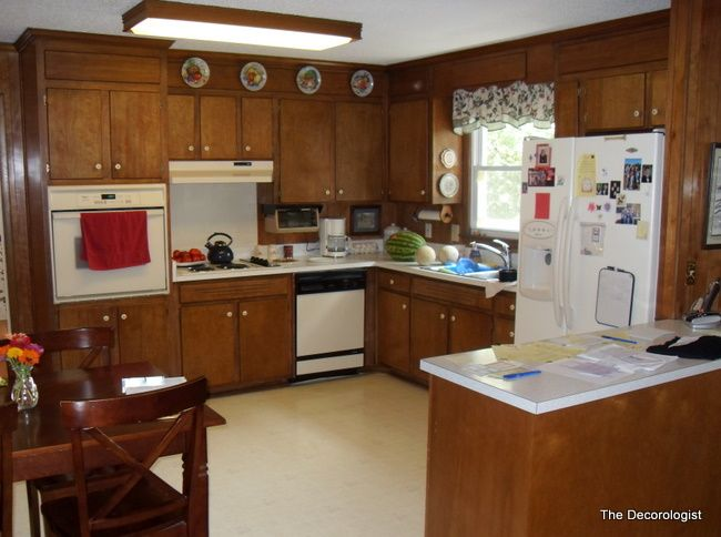 How Painting Wood Paneling Will Change Your Life | 1970s kitchen ...
