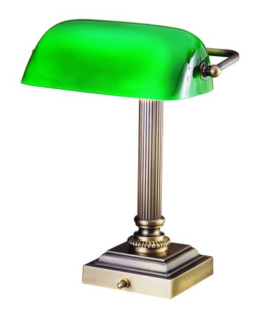 Shelburne 13 Inch Desk Lamp By House Of Troy Traditional Desk Lamps Desk Lamp Brass Desk Lamp
