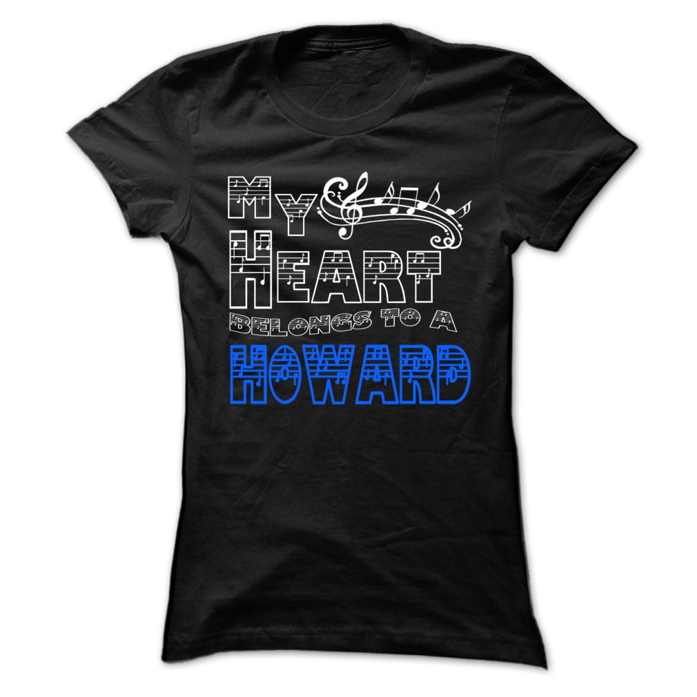 My Heart Belongs to Howard - Cool T-Shirt !!!