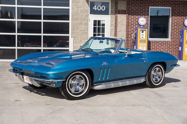 1966 Chevrolet Corvette Chevrolet Chevrolet Corvette Corvette