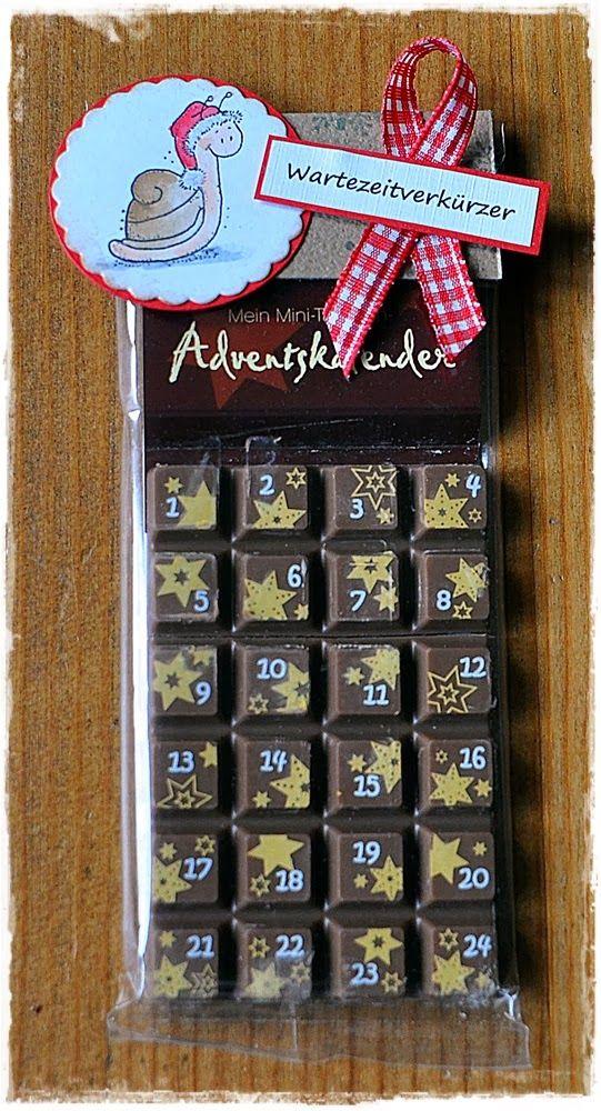 schokoladiger Adventskalender