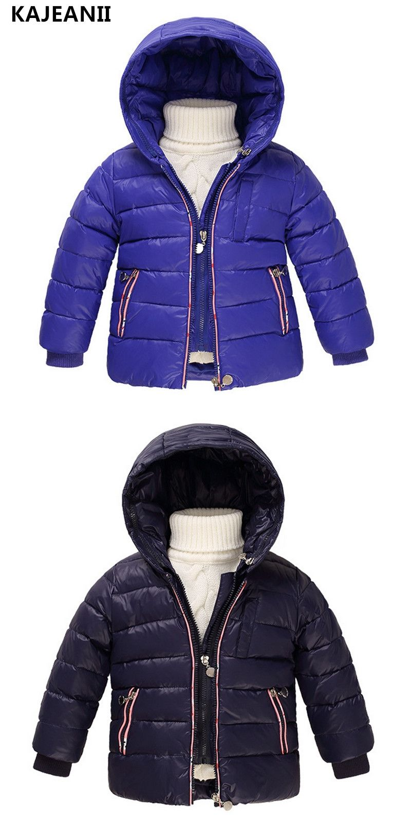 a646407c1 KAJEANII Children s Girls Outerwear White Duck Down Jackets Boy ...