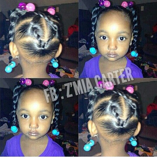 African American Child Hairstyle Toddler Hairstyles Girl Baby