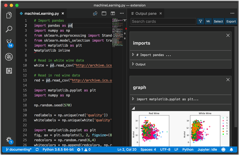 Data Science In Visual Studio Code Using Neuron A New Vs Code Extension Data Science Information Engineering Neurons