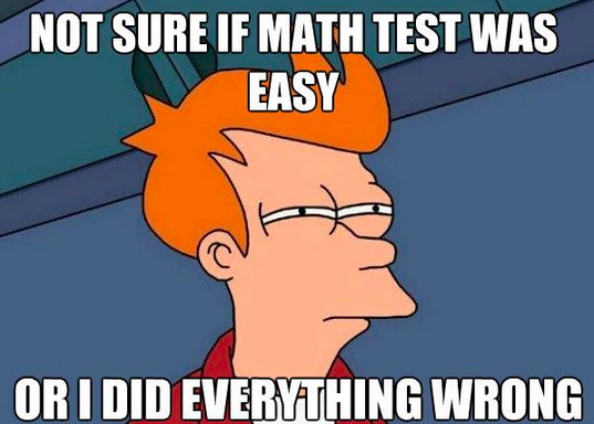 Funny Meme For Math : Math memes test and