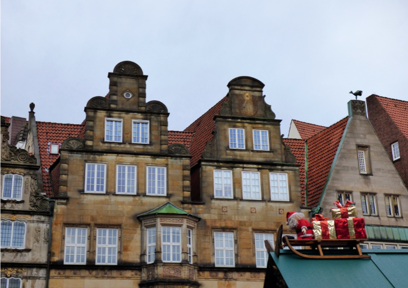 Häuser am Marktplatz, Bremen Foto S. Hopp Bremerhaven