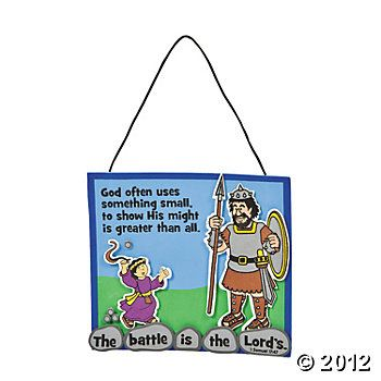 David and Goliath | Bible crafts for kids | Pinterest | David ...