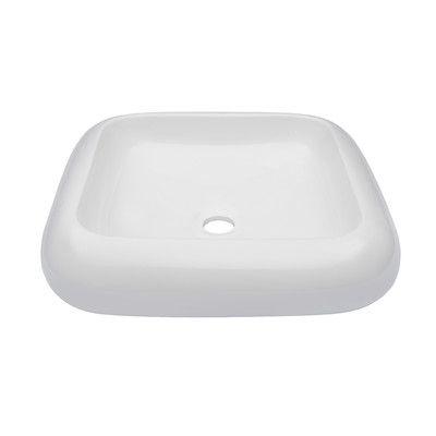 Novatto Square Ceramic Vessel Bathroom Sink