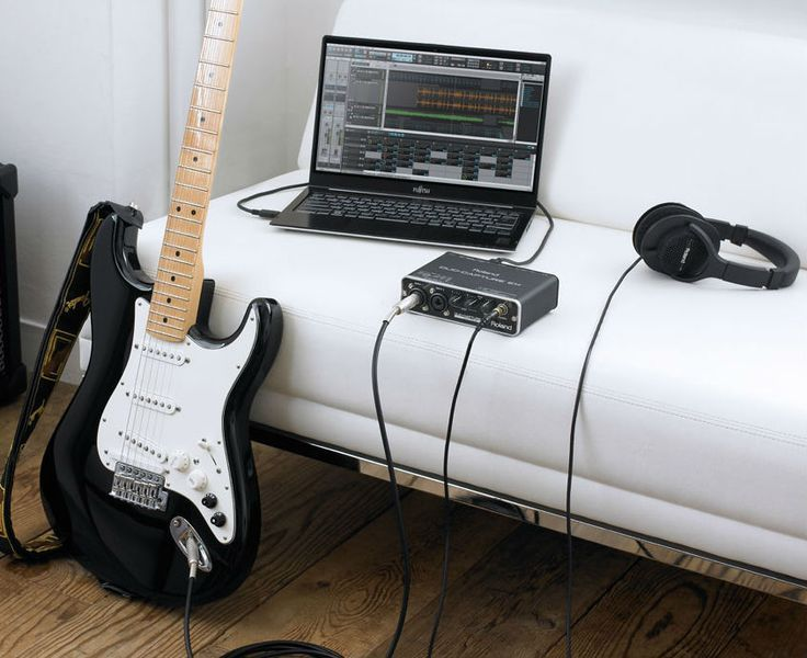 recording electric guitar on mac