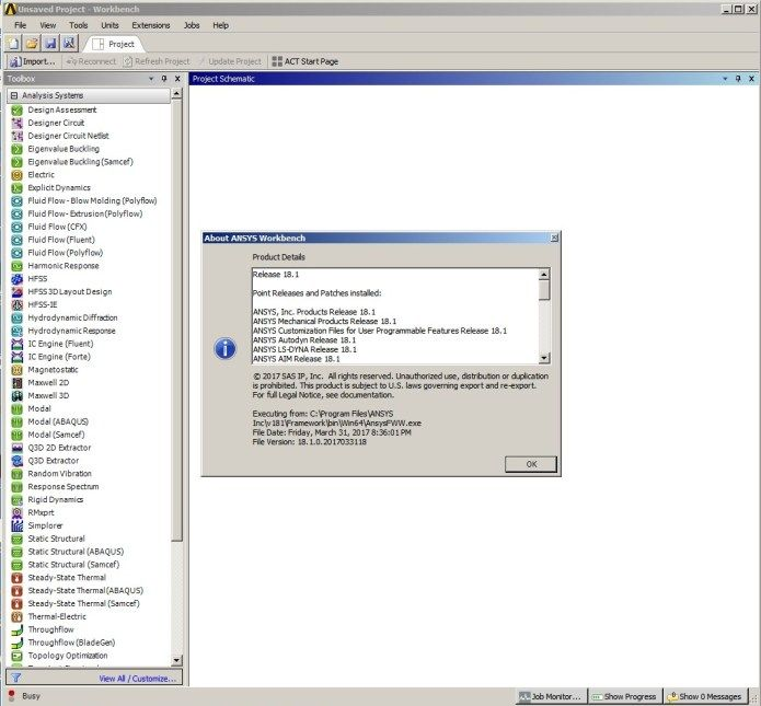 Working with ANSYS Products 18 1 full license | ansys