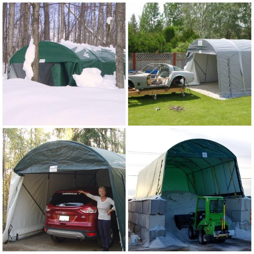 Cover Tech Car Shelters Have Many Uses Visit Now Portable Garage Car Shelter Garages
