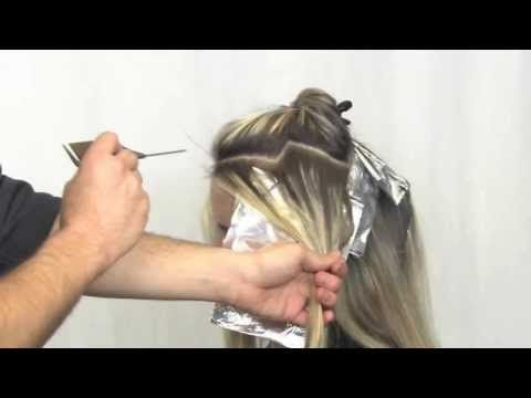 HOW TO COLOR 101 USING FOIL (Hair Color Technique) - YouTube | color ...