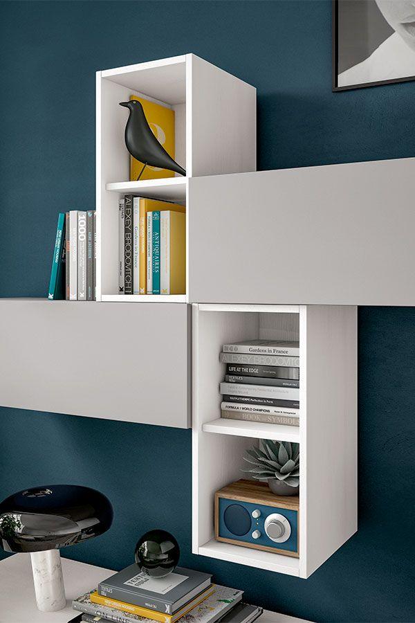 Disegna   SANTALUCIA MOBILI Modern minimalistic wall unit for the ...