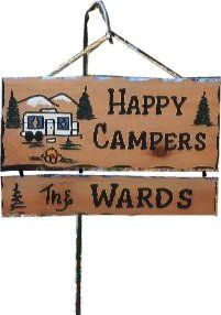 Pin By Pam Ward On Camp Fish Hike Bike Boat Camping Signs Camping Signs Personalized Camper Signs