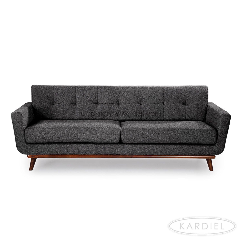 Jackie Mid Century Modern Vintage Sofa