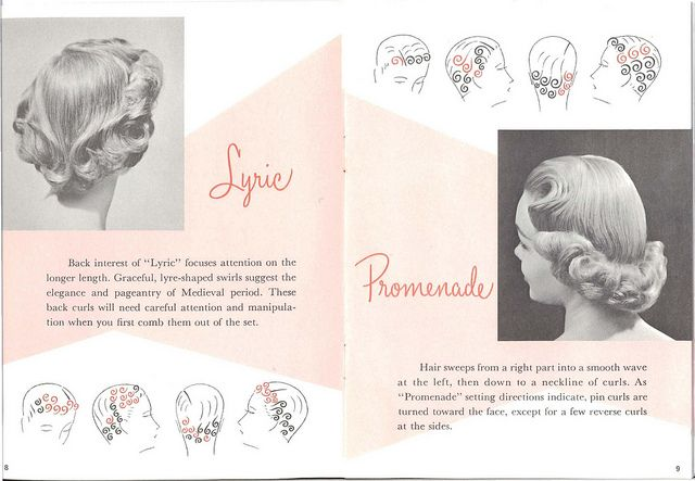 50s hair setting instructions by thenoirkitten, via Flickr ...
