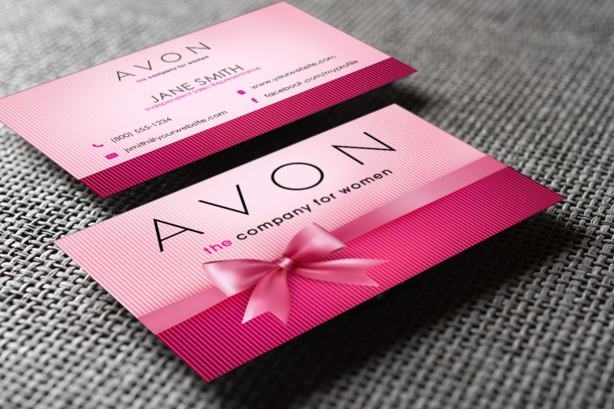 Avon Business Cards Free Shipping Avon Business Printing Business Cards Free Business Cards