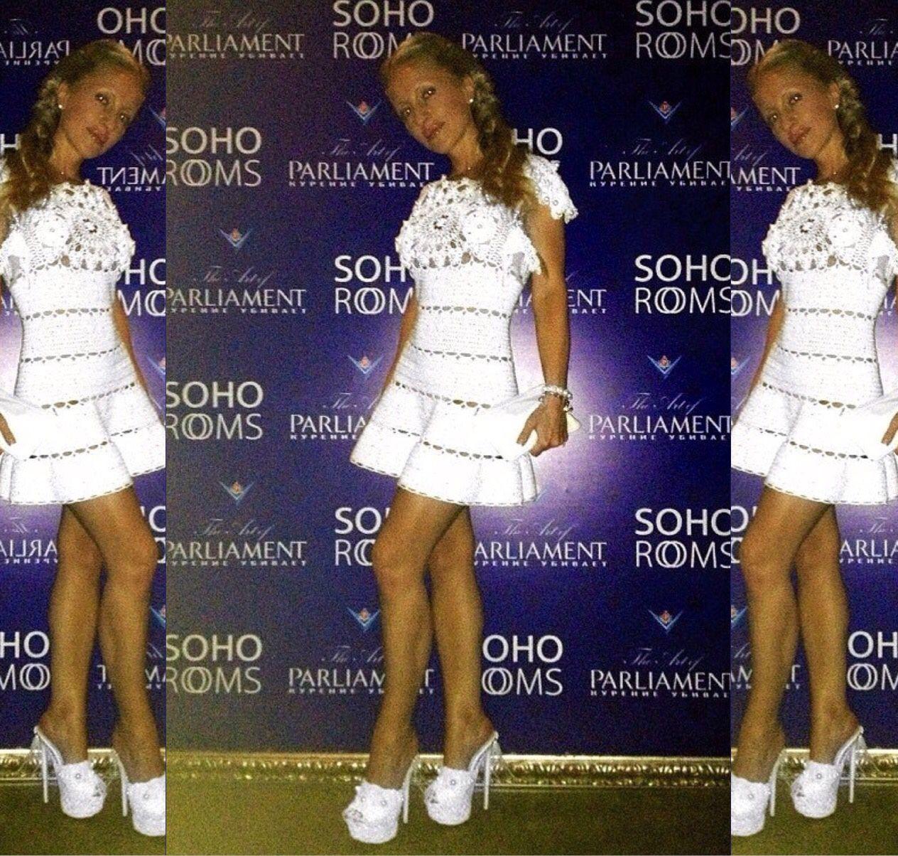 62e8d67423d Купить или заказать Вязаное платье  Princess  от Olga Lace! в  интернет-магазине