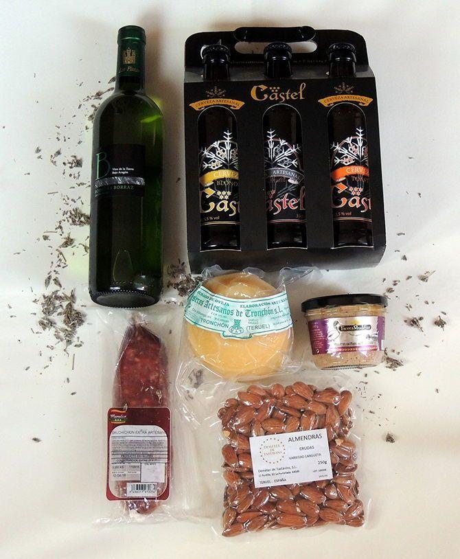 Pack de verano majo para acompañar vuestro fantástico verano o vacaciones compuesto por los productos artesanos con mucha esencia y sabor #Teruel #esenciadepueblo #productosartesanos #sienteteruel #regalos