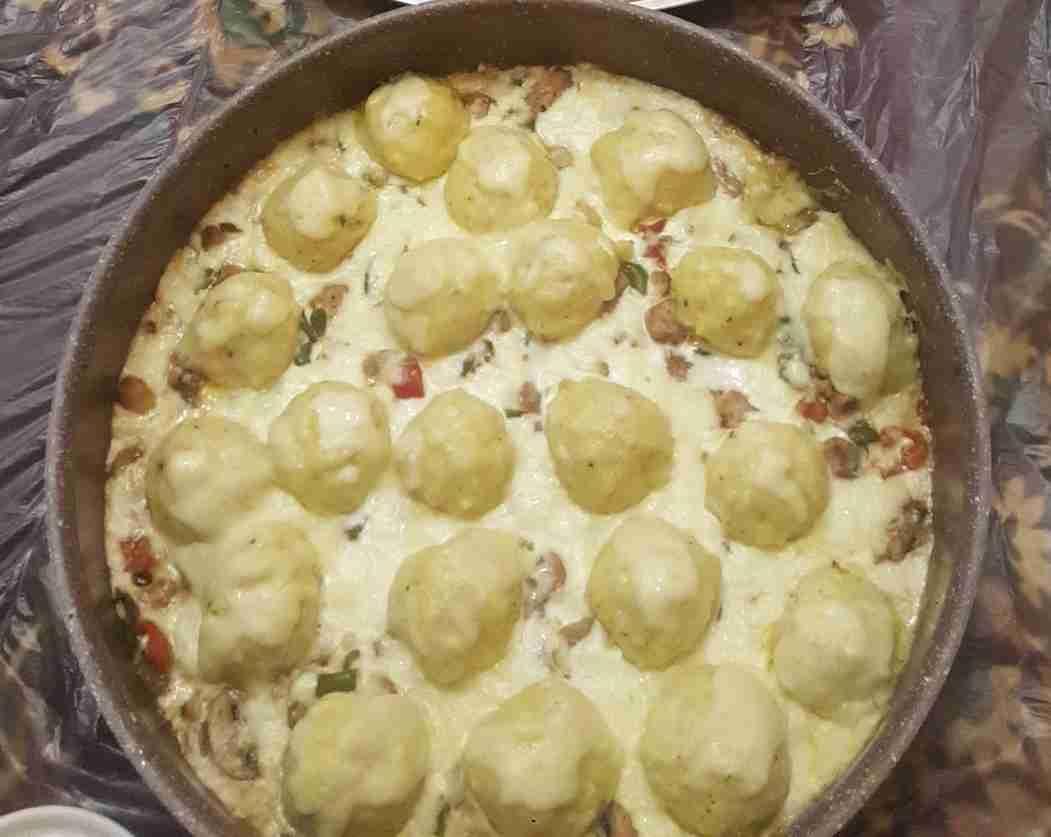 كرات البطاطس بالكريمة والدجاج ملكة رمضان زاكي Recipe Food Cooking Vegetables