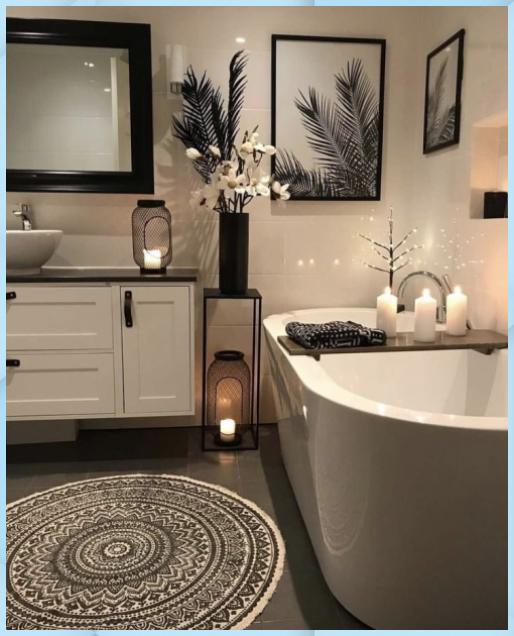 Ihr Badezimmer Neu Dekorieren Hier Sind Einige Tipps Badezimmer Deko Ideen Badezimmer Badezimmer Deko In 2020 Luxusbadezimmer Wohnung Badezimmer Badezimmer Klein