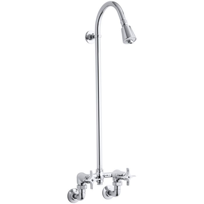 Kohler Industrial Exposed Shower & Reviews | Wayfair.ca | Outdoor ...
