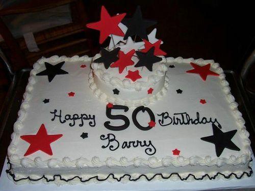 Pleasing 50Th Birthday Cake For Man Here Happy Birthday Cake Idea Personalised Birthday Cards Akebfashionlily Jamesorg