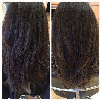 Bebe Salon Photos Balayage Asian Hair Hair Hair Highlights