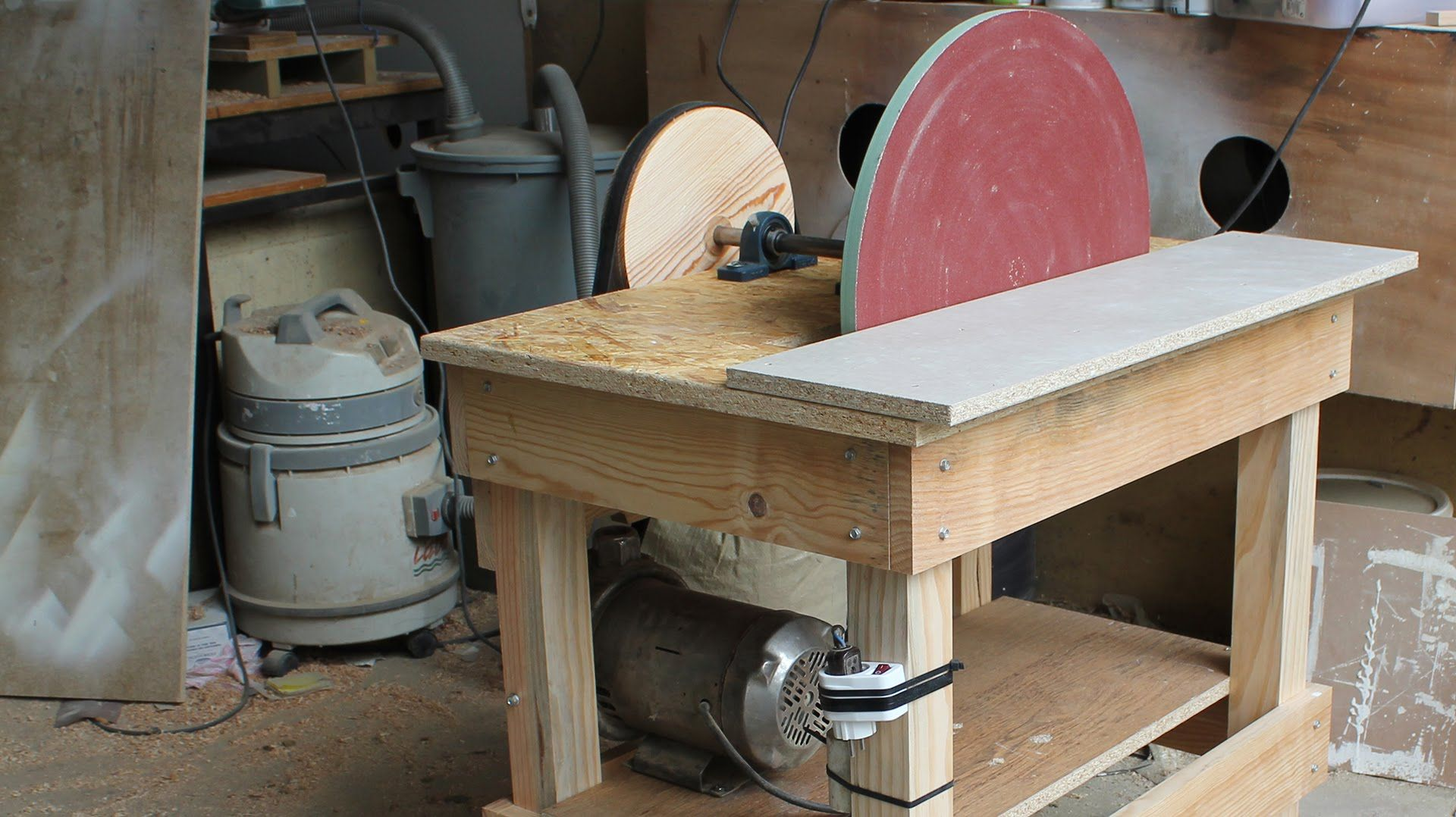 Disk Sander Homemade 20 Disc Woodworking Finishes Woodworking Homemade Tools