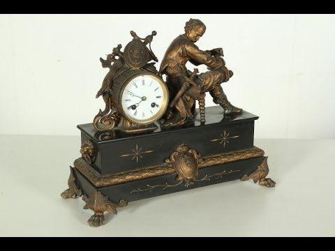 Orologio da camino #diamanoinmano, #antiquariato, #oggettistica