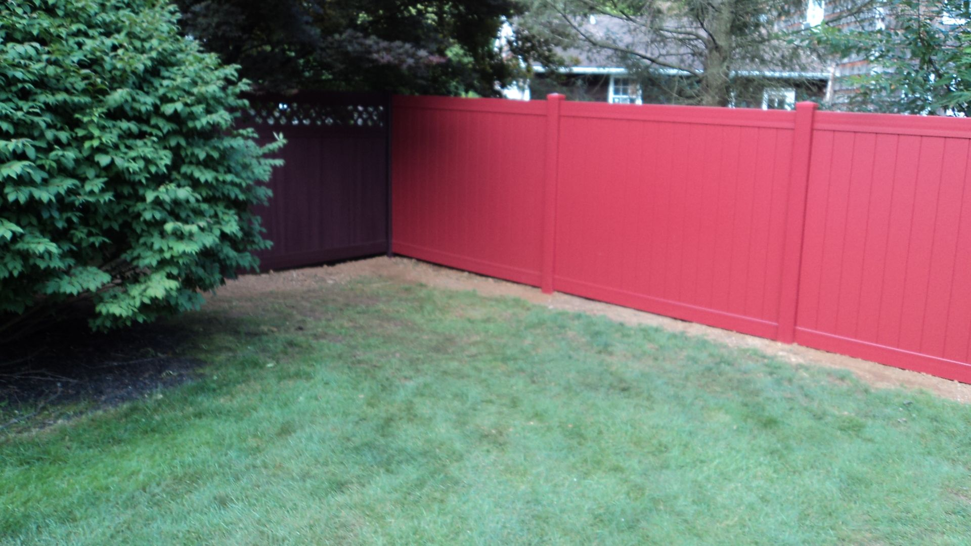 Featuring 8 colors designed to match most exterior landscape options...all low gloss matte finish
