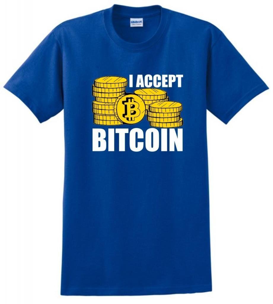 i accept bitcoin t shirt