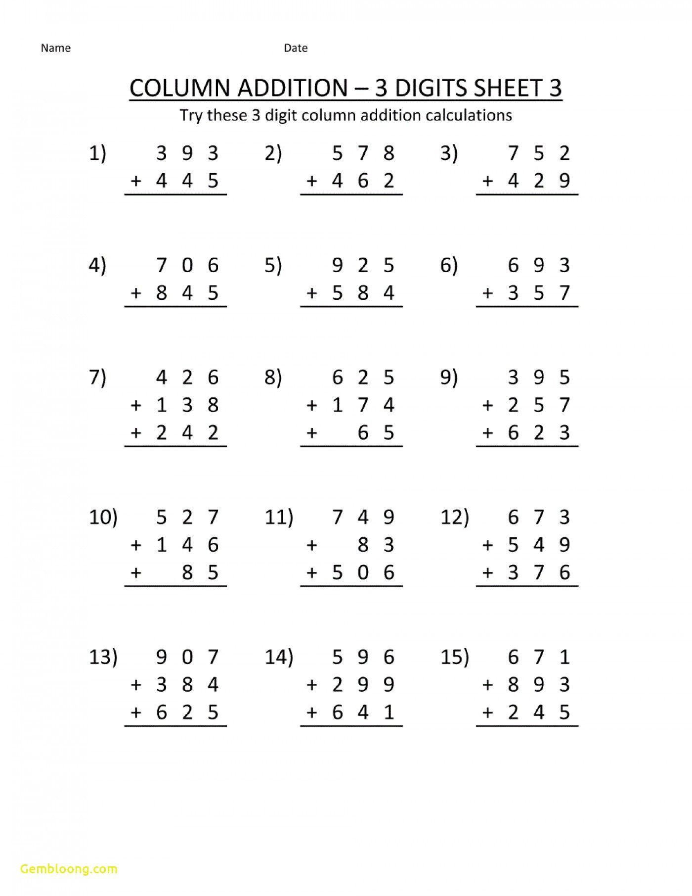 Legal Free Printable Math Worksheets For 2nd Grade Addition Worksheet Printable In 2020 Math Addition Worksheets Free Math Worksheets Free Printable Math Worksheets