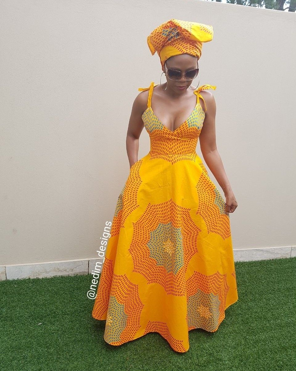 Ankata African Print Summer Maxi Dresses Nedim Designs African Fashion African Fashion Dresses African Attire [ 1200 x 960 Pixel ]