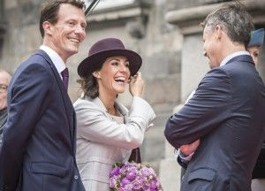 MyRoyals:  Danish Royal Family Attends the Opening of Parliament, October 6, 2015-Prince Joachim, Princess Marie and Crown Prince Frederik