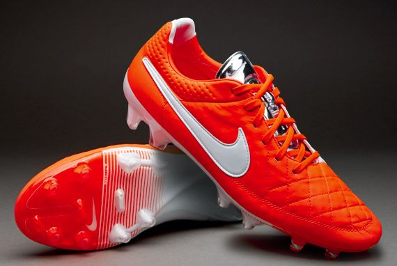Nike Tiempo Legend V FG (Orange/Red) - Pretty to look at, cool to own, expensive to buy.