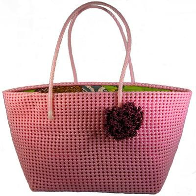 Large Pink Tote From India