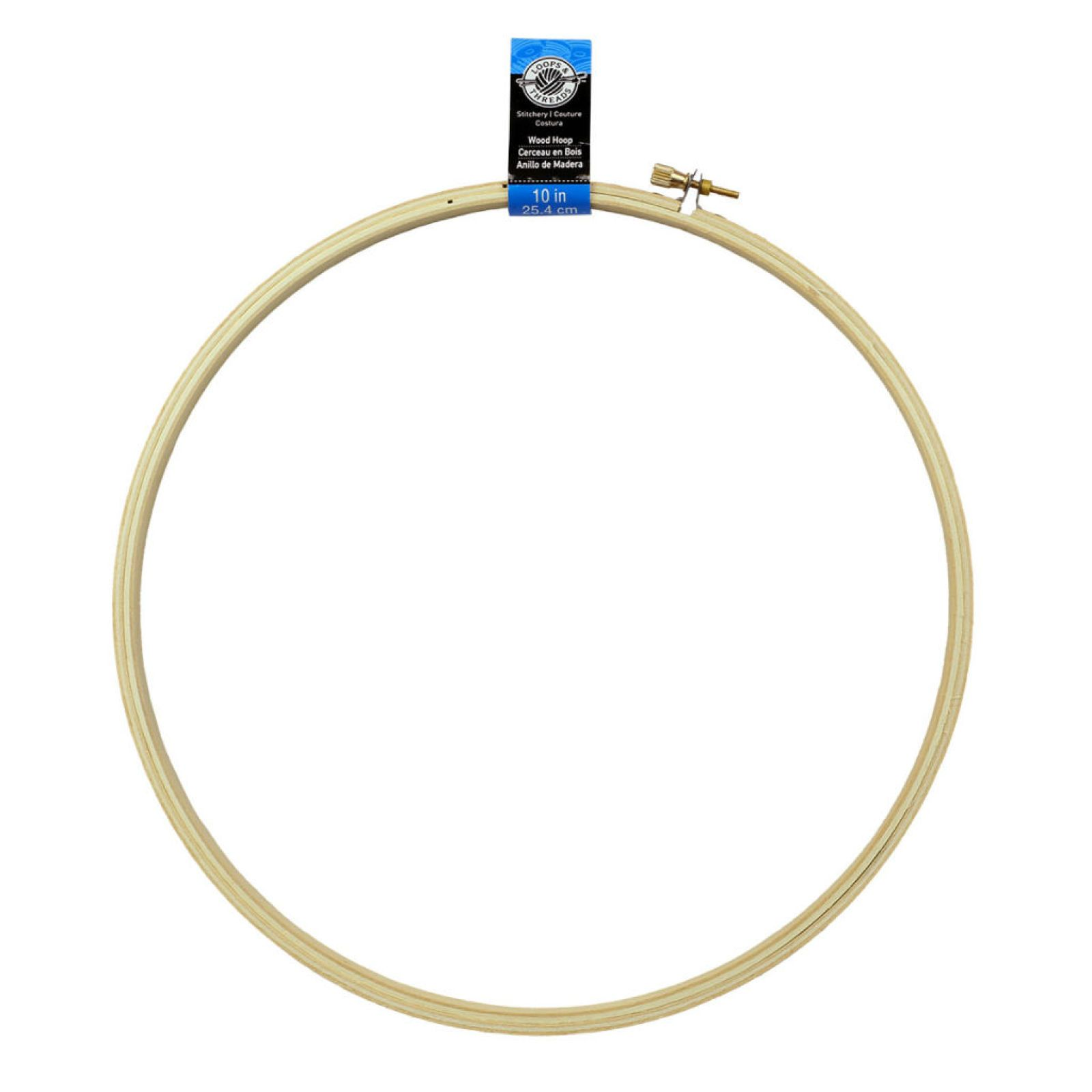 Loops Threads Wooden Embroidery Hoop In 2018 Montessori Toy Diy Wiring A Light Fixture On Loop 179 10