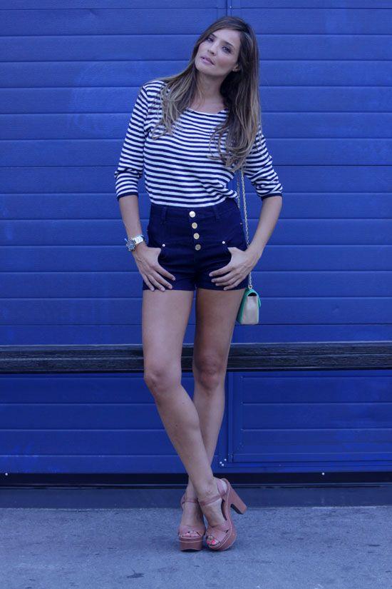 navy look - lady addict | stylelovely.com