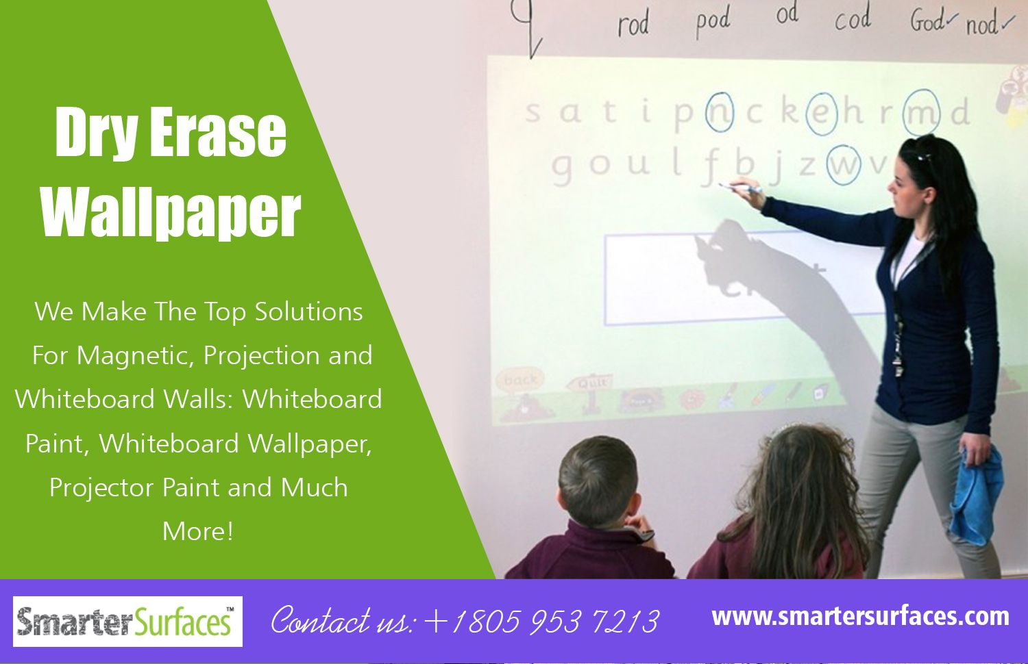 Https Smartersurfaces Com Whiteboard Paint Projector Paint Whiteboard Wall