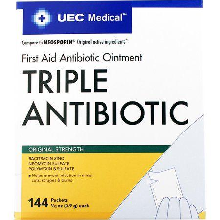 UEC Medical Triple Antibiotic Ointment 0 9 g NBE Neosporin