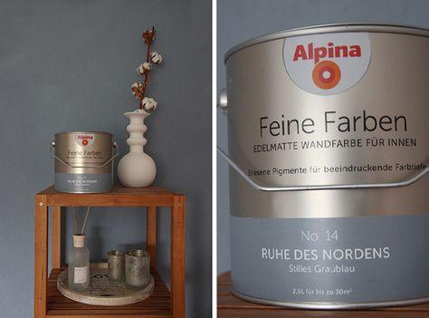 Feine Farbe für die Wand | sanvie.de