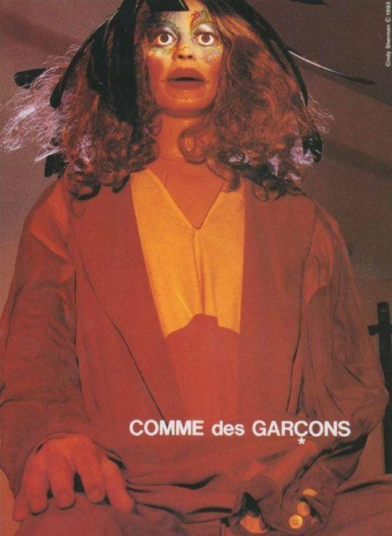 Comme des Garçons ad 1993 by Cindy Sherman